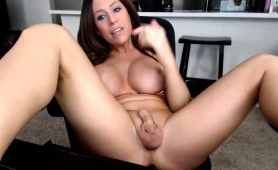 big-breasted-brunette-shemale-fucks-her-ass-with-a-pink-toy