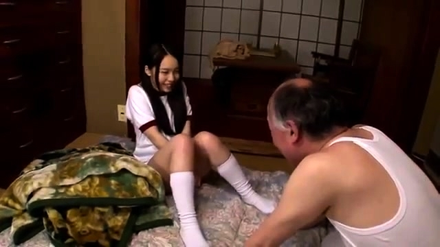 Petite Japanese Old Man