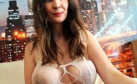 Stunning Webcam Milf Puts Her Amazing Big Hooters On Display