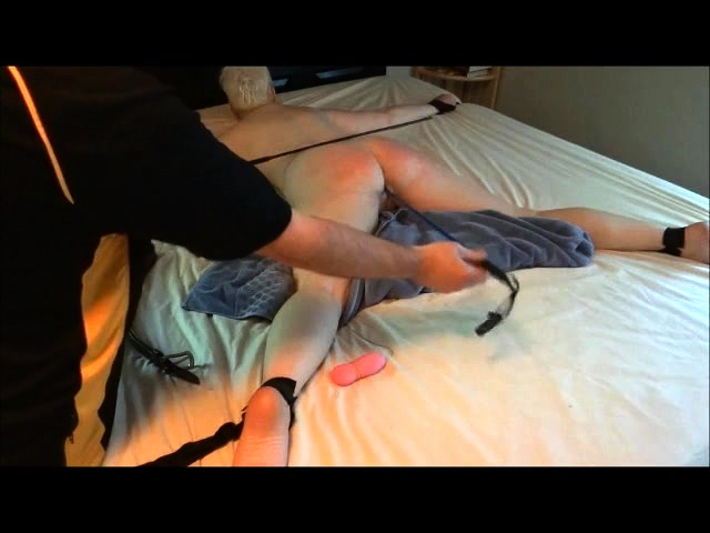 Spanked wife video