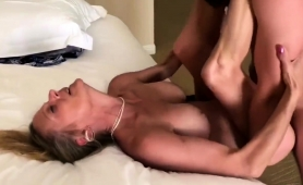 Bodacious Blonde Milf Gets The Intense Fucking She Desires