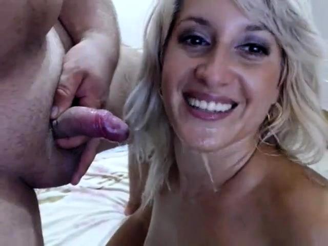 Blonde Milf Strip Tease