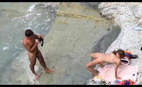Beach Voyeur Captures A Horny Amateur Couple Having Wild Sex